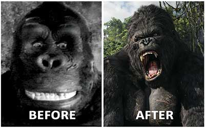 King Kong, Before/After, still from performance